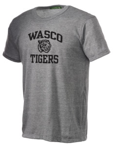 Wasco High School Tigers Alternative Men's Eco Heather T-shirt