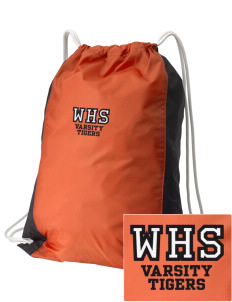 Wasco High School Tigers Embroidered Holloway Home and Away Cinch Bag