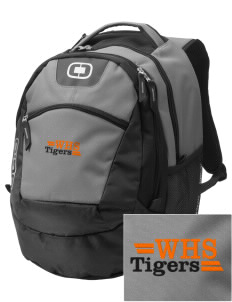 Wasco High School Tigers Embroidered OGIO Rogue Backpack