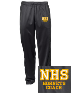 Novato High School Hornets Embroidered Men's Tricot Track Pants
