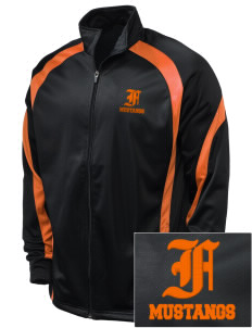Foothill High School Mustangs Embroidered Holloway Men's Tricotex Warm Up Jacket