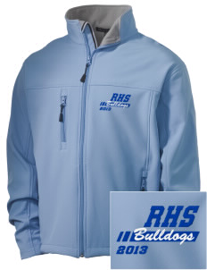 Ramona High School Bulldogs Embroidered Men's Soft Shell Jacket