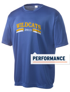 Gompers Secondary School Wildcats Men's Competitor Performance T-Shirt