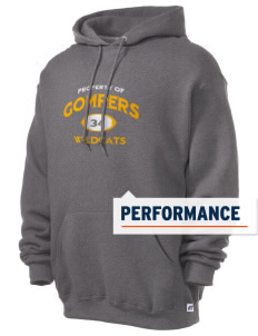 Gompers Secondary School Wildcats Russell Men's Dri-Power Hooded Sweatshirt