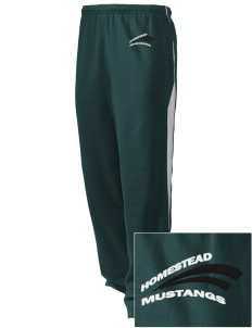 Homestead High School Mustangs Embroidered Holloway Men's Pivot Warm Up Pants