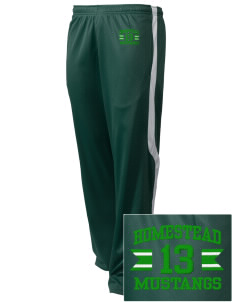 Homestead High School Mustangs Embroidered Holloway Men's Tricotex Warm Up Pants