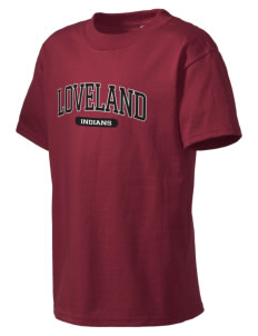 Loveland High School Indians Kid's Essential T-Shirt