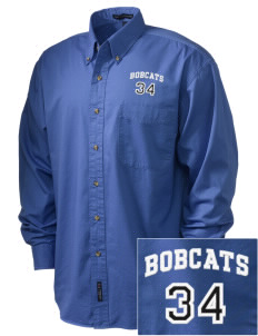 Ophir Elementary School Bobcats Embroidered Tall Men's Twill Shirt