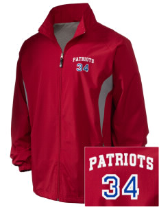 John Ehret High School Patriots Embroidered Holloway Men's Full-Zip Jacket