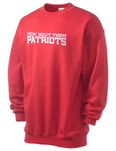 John Ehret High School Patriots Men's 7.8 oz Lightweight Crewneck Sweatshirt