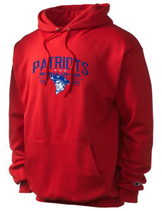 North Cumberland Elementary School Patriots Champion Men's Hooded Sweatshirt