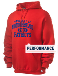 North Cumberland Elementary School Patriots Russell Men's Dri-Power Hooded Sweatshirt