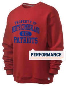 North Cumberland Elementary School Patriots  Russell Men's Dri-Power Crewneck Sweatshirt