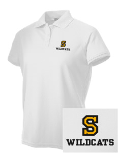 Saint James High School Wildcats Embroidered Women's Technical Performance Polo