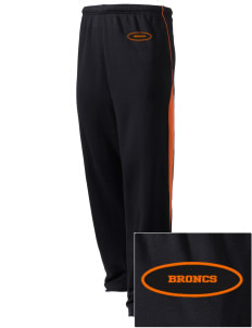 Billings Senior High School Broncs Embroidered Holloway Men's Pivot Warm Up Pants