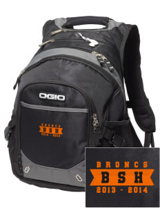 Billings Senior High School Broncs Embroidered OGIO Fugitive Backpack