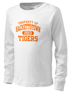 Hackettstown High School Tigers  Kid's Long Sleeve T-Shirt