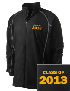Uniondale High School Knights Embroidered Men's Nike Golf Full Zip Wind Jacket