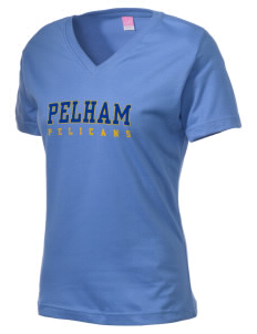 Pelham Pelicans Women's V-Neck T-Shirt