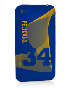 Pelham Pelicans Apple iPhone 3G/ 3GS Skin