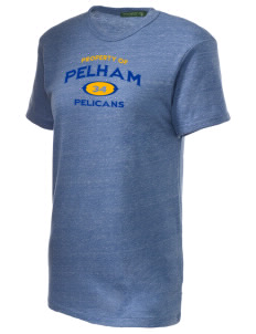 Pelham Pelicans Alternative Unisex Eco Heather T-Shirt