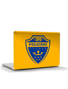 "Pelham Pelicans Apple Macbook Pro 17"" (2008 Model) Skin"