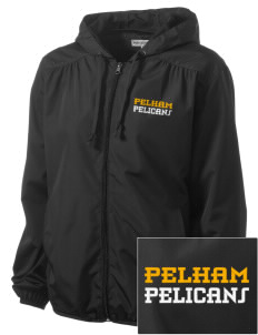 Pelham Pelicans Embroidered Women's Hooded Essential Jacket