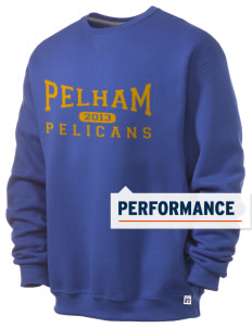 Pelham Pelicans  Russell Men's Dri-Power Crewneck Sweatshirt