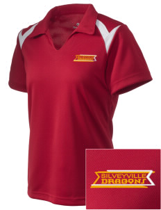 Silveyville Primary School Dragons Embroidered Holloway Women's Laser Polo