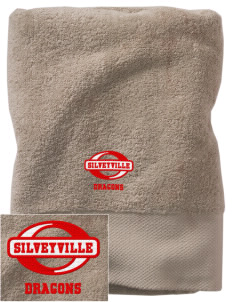 Silveyville Primary School Dragons Embroidered Zero Twist Resort Towel