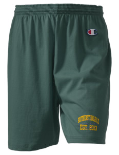 "Southeast Halifax High School Trojans  Champion Women's Gym Shorts, 6"" Inseam"
