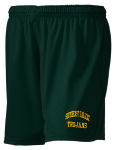 "Southeast Halifax High School Trojans Holloway Women's Performance Shorts, 5"" Inseam"