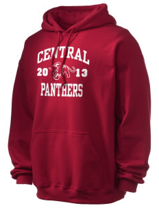 Central High School Panthers Ultra Blend 50/50 Hooded Sweatshirt
