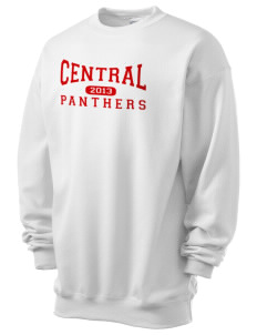 Central High School Panthers Men's 7.8 oz Lightweight Crewneck Sweatshirt