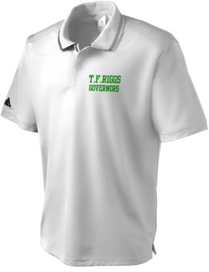 T.F. Riggs High School Governors adidas Men's ClimaLite Athletic Polo