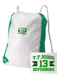 T.F. Riggs High School Governors Embroidered Holloway Home and Away Cinch Bag