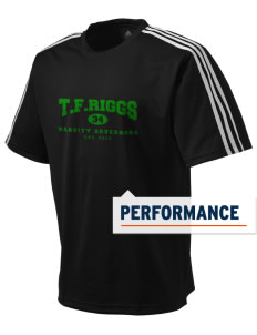 T.F. Riggs High School Governors adidas Men's ClimaLite T-Shirt