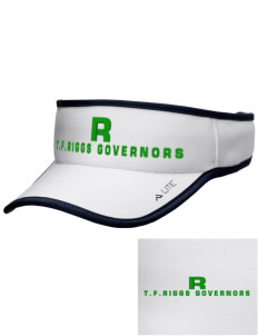 T.F. Riggs High School Governors Embroidered Lite Series Active Visor