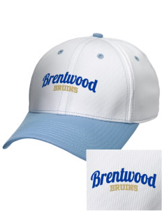 Brentwood High School Bruins Embroidered New Era Snapback Performance Mesh Contrast Bill Cap