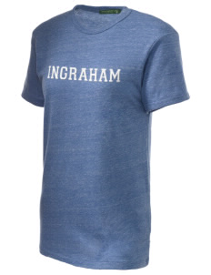 Ingraham High School Rams Embroidered Alternative Unisex Eco Heather T-Shirt