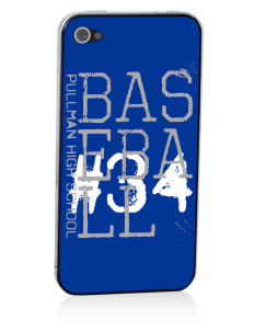 Pullman High School Greyhounds Apple iPhone 4/4S Skin