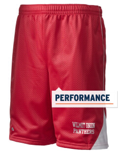 "Wilmot Union High School Panthers Holloway Men's Possession Performance Shorts, 9"" Inseam"