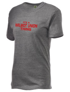 Wilmot Union High School Panthers Alternative Unisex Eco Heather T-Shirt