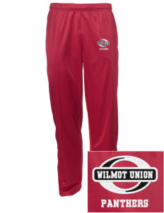 Wilmot Union High School Panthers Embroidered Men's Tricot Track Pants