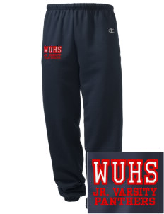 Wilmot Union High School Panthers Embroidered Champion Men's Sweatpants