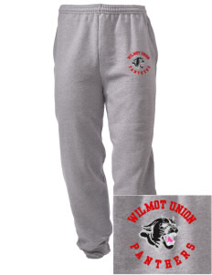 Wilmot Union High School Panthers Embroidered Men's Sweatpants with Pockets