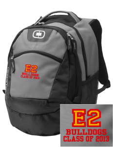 Elementary School 20 Bulldogs Embroidered OGIO Rogue Backpack