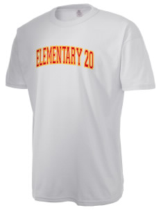 Elementary School 20 Bulldogs  Russell Men's NuBlend T-Shirt