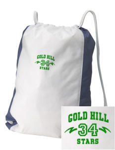 Gold Hill Elementary School Stars Embroidered Holloway Home and Away Cinch Bag