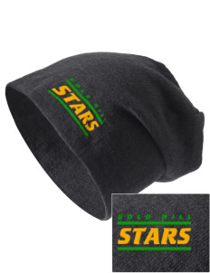 Gold Hill Elementary School Stars Embroidered Slouch Beanie